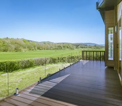 5 star holiday home park Presteigne, Wales