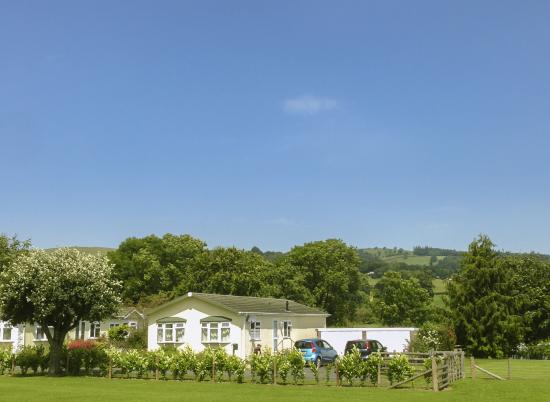 Residential park homes in Wales 5 stars photo