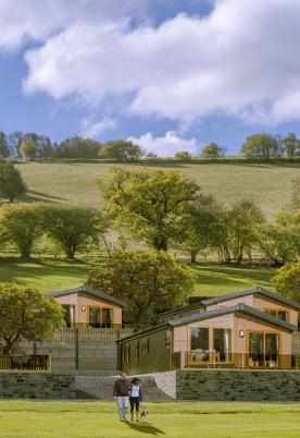 5 star holiday park at Rockbridge Park Wales