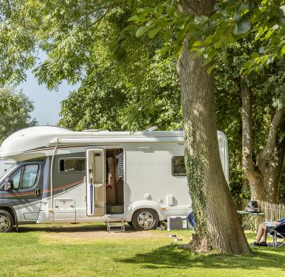 5 star holiday caravan park Mid Wales
