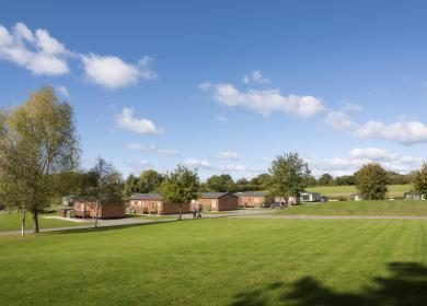 Premium lodge plots for sale at Arrow Bank, Herefordshire