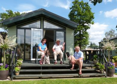 Dog friendly static caravan parks photo
