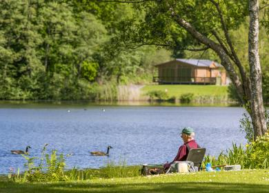 5 star holiday parks with fishing
