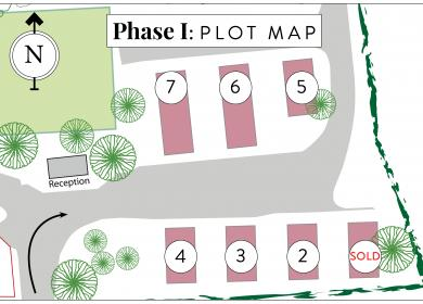 Plot map static caravans for sale in Wales