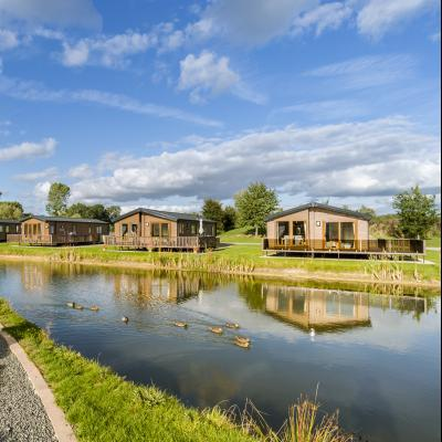 quiet 5 star holiday park at Arrow Bank Herefordshire