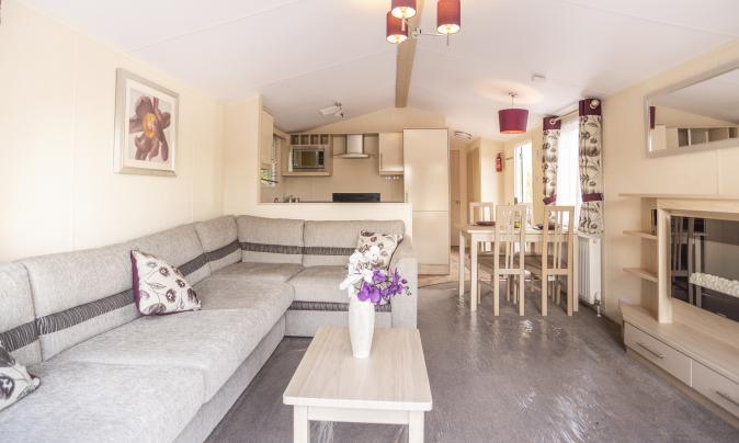 Self catering caravan hire at Rockbridge Park, Wales